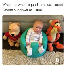 The whole squad