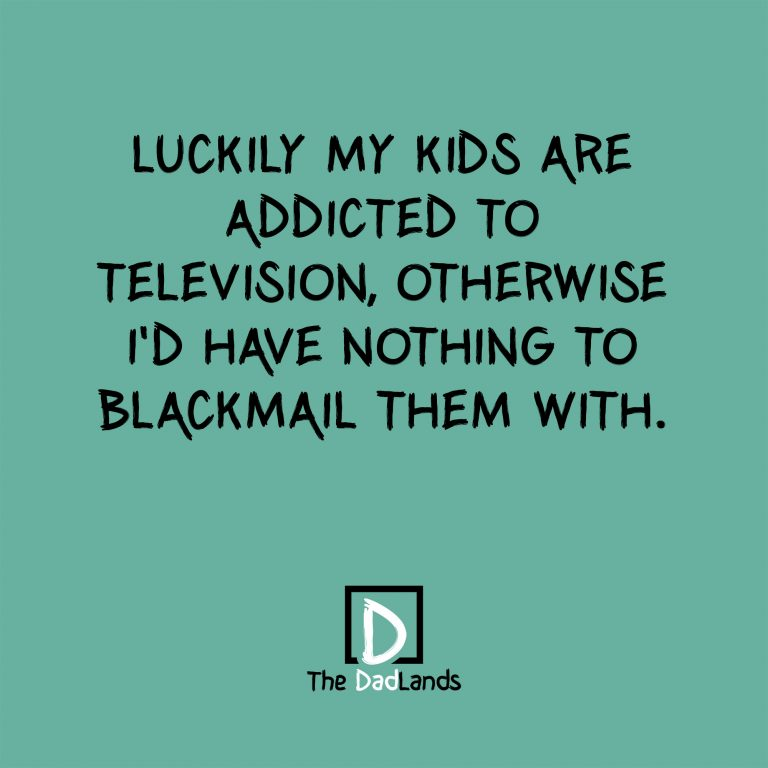 Kids addicted to television