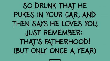 St Patricks Day - Fatherhood
