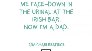 St Patricks Day - Face down in the urinall