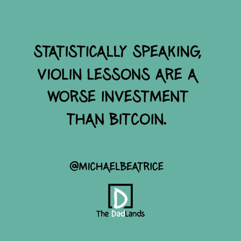 Violin lessons bitcoin
