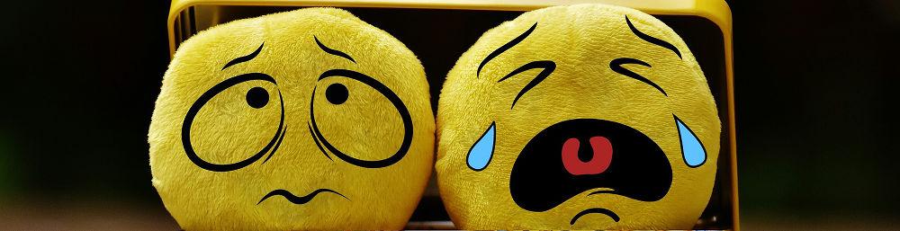 Emotions sad crying
