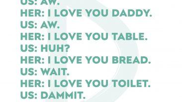 I Love You, Toilet