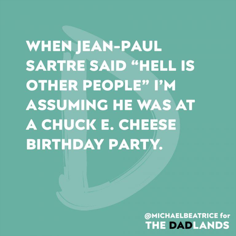 Chuck E Cheese Birthday Hell