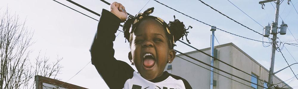 Sassy child