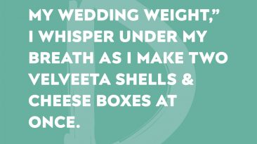 Wedding Weight Woes