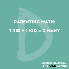 Parenting math